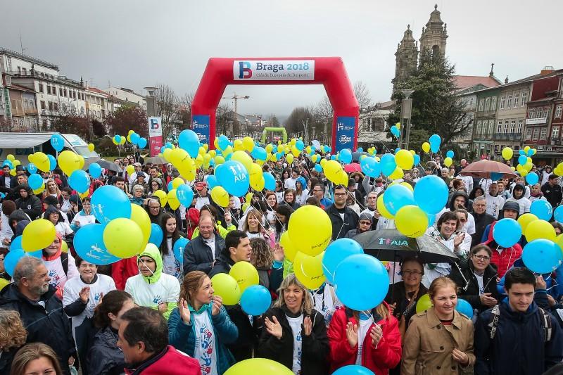 Milhares de bracarenses caminharam pelo autismo